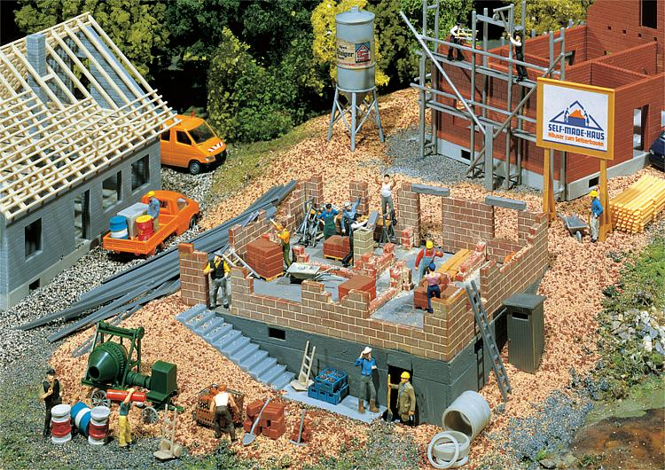 Csn faller 130307 casa in costruzione case di paese for Costruzione di case a prezzi accessibili