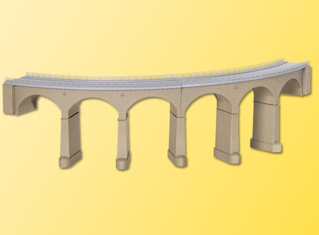 Kibri 39726 h0 Rosanna-viadotto con rompighiaccio pilastri piegato binario