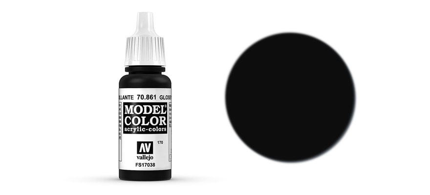 MODEL Color: Nero lucido 17 ml