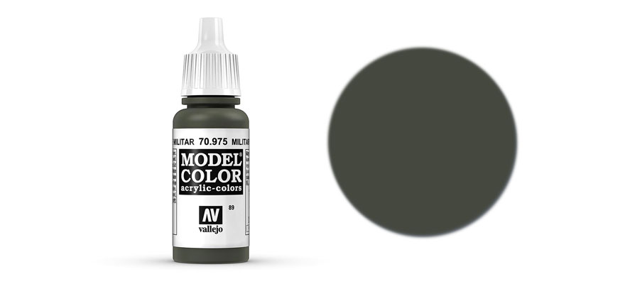 MODEL Color: Military Green - colore acrilico 17 ml