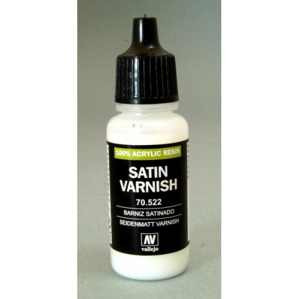 MODEL Color: Satin Varnish - medium per colore acrilico 17 ml