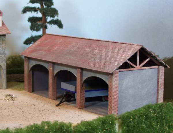 Csn mkb h0 550 magazzino agricolo stile italiano for Casa in stile magazzino