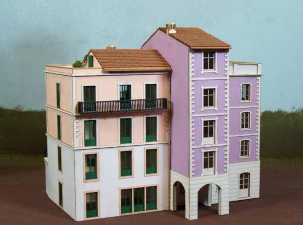 Csn mkb h0 551 casa a 3 piani stile ligure case varie for Piani di casa bungalow 2 piani