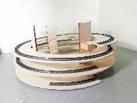 Csn plastici kit scala n modellismo ferroviario for Scala elicoidale dwg