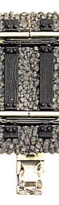 Fleischmann 6436 metallo-rotaie connettore Profi-binario h0