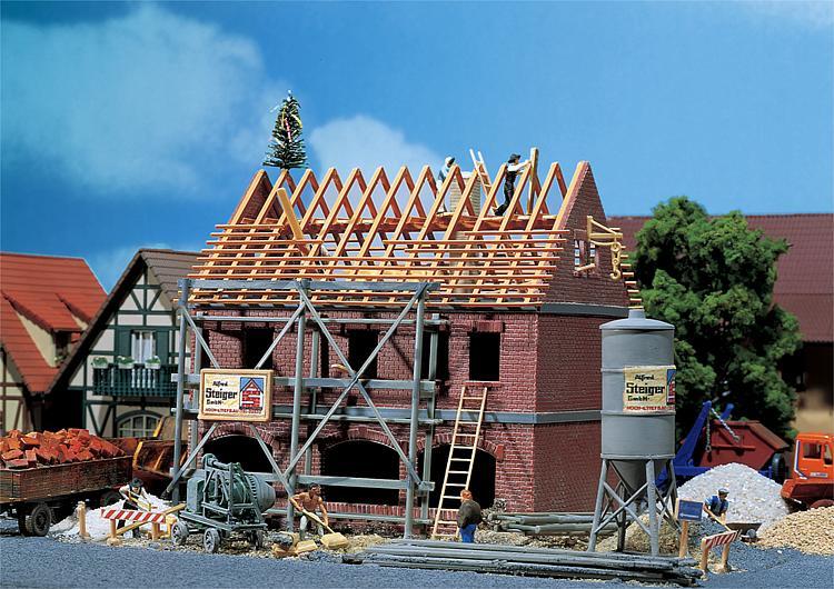 Csn cantiere edile modellismo ferroviario for Casa di costruzione personalizzata